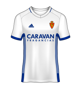 camiseta actual real zaragoza