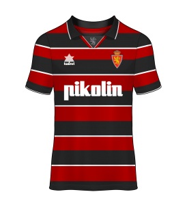camiseta alternativa Real Zaragoza 00/01