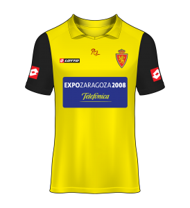 camiseta alternativa Real Zaragoza 05/06