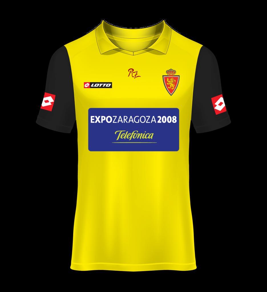 camiseta alternativa Real Zaragoza 05/06