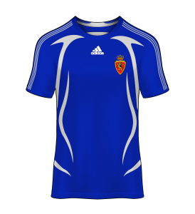 Camiseta alternativa Real Zaragoza 08/09