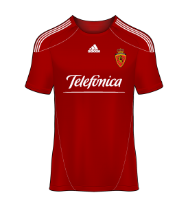 camiseta alternativa Real Zaragoza 09/10
