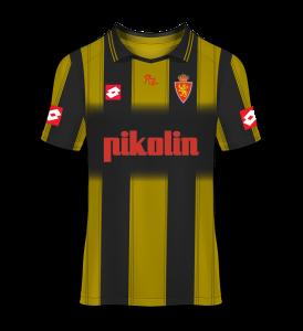 camiseta visitante Real Zaragoza 03/04