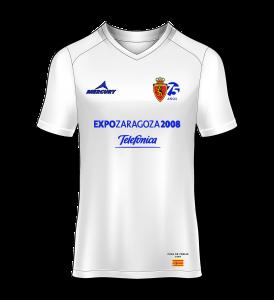 Camiseta especial Real Zaragoza homenaje a los magníficos