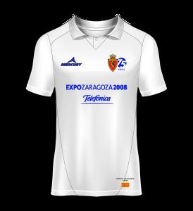 Camiseta especial Real Zaragoza homenaje a la Recopa