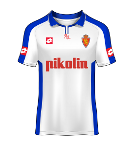 camiseta local Real Zaragoza 04/05