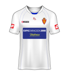 camiseta local Real Zaragoza 05/06