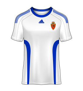 camiseta local Real Zaragoza 08/09