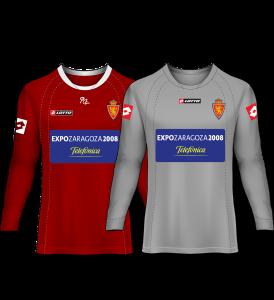 camiseta portero real zaragoza 05-06