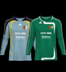 camiseta portero real zaragoza 07-08
