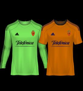 camiseta portero real zaragoza 09-10