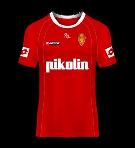 camiseta visitante Real Zaragoza 04/05