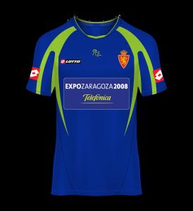 camiseta visitante Real Zaragoza 05/06