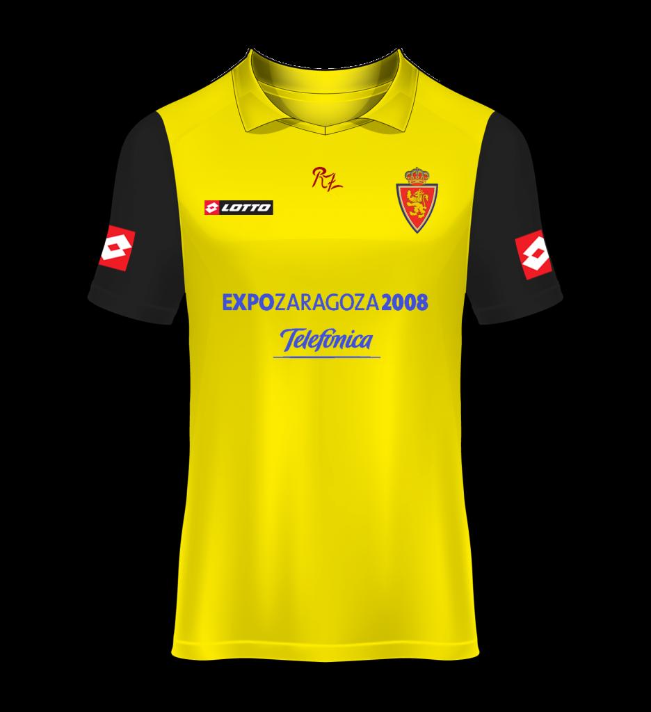 camiseta visitante Real Zaragoza 06/07