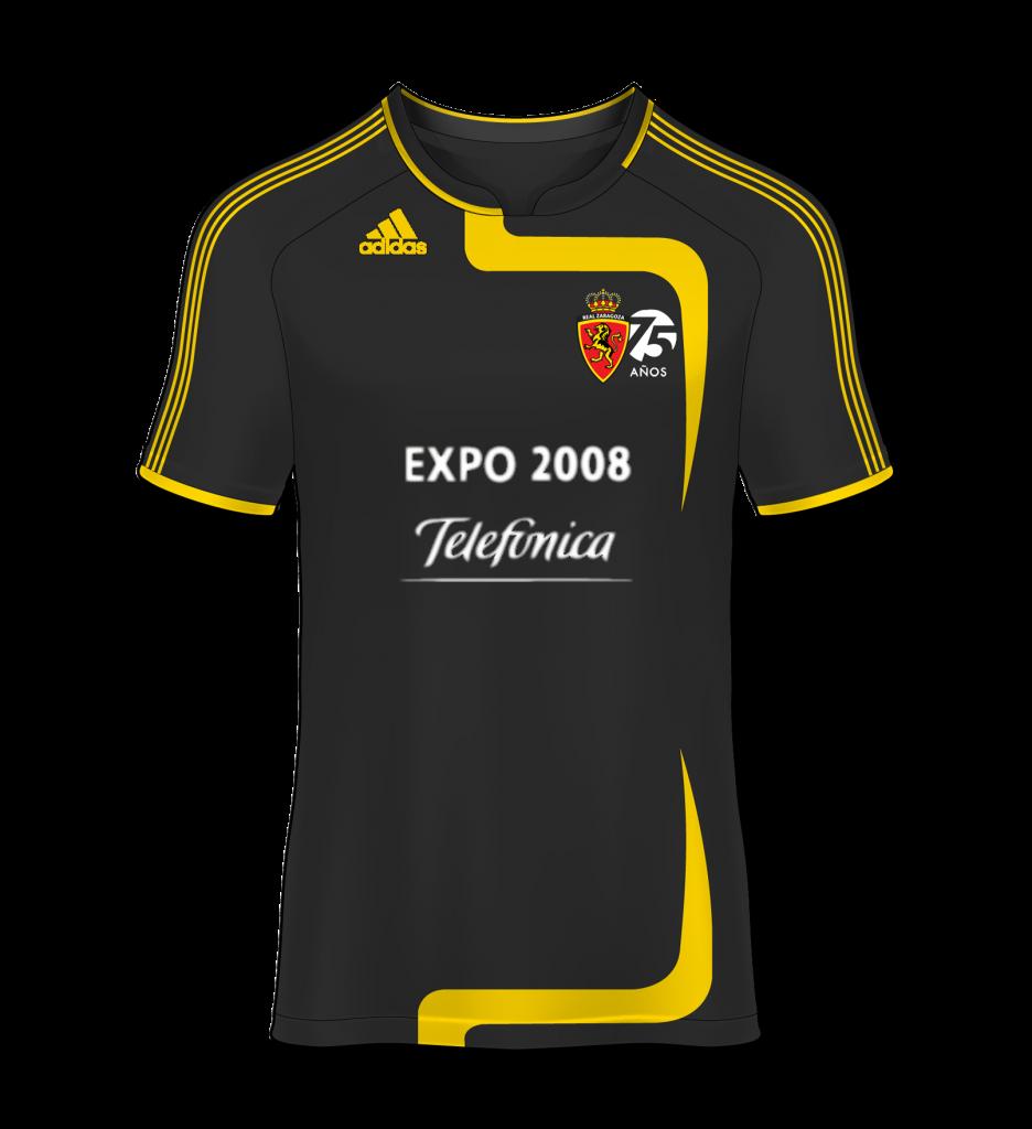 camiseta visitante Real Zaragoza 07/08