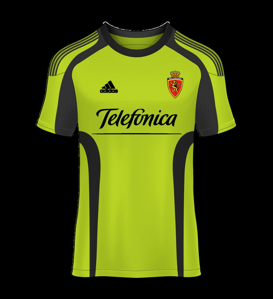 camiseta visitante Real Zaragoza 09/10