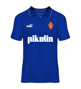 camiseta alternativa Real Zaragoza 94/95