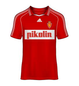 camiseta alternativa Real Zaragoza 98/99