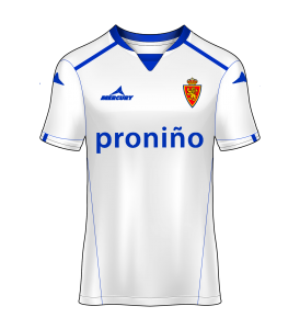 camiseta local Real Zaragoza 12/13