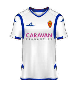 camiseta local Real Zaragoza 14/15