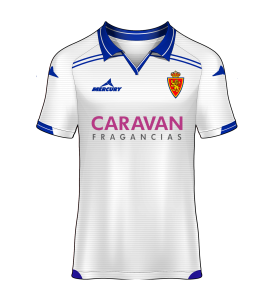 camiseta local Real Zaragoza 15/16