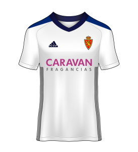 camiseta local Real Zaragoza 17/18