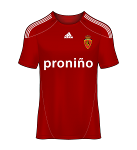 camiseta alternativa Real Zaragoza 10/11