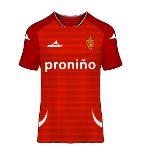 camiseta alternativa Real Zaragoza 12/13