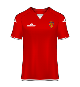 camiseta alternativa Real Zaragoza 14/15