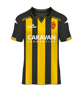 camiseta alternativa Real Zaragoza 15/16