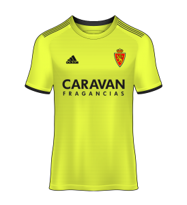 camiseta alternativa Real Zaragoza 18/19