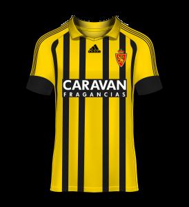camiseta avispa Real Zaragoza 17/18