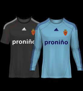 camiseta portero real zaragoza 10-11
