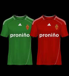 camiseta portero real zaragoza 11-12