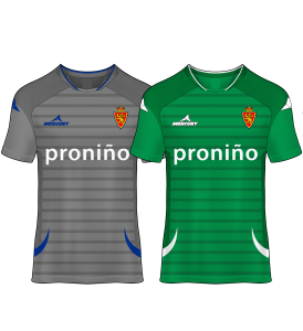 camiseta portero real zaragoza 12-13