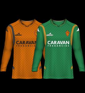 camiseta portero real zaragoza 14-15