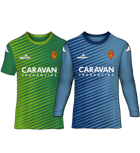 camiseta portero real zaragoza 15-16