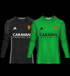 camiseta portero real zaragoza 16-17