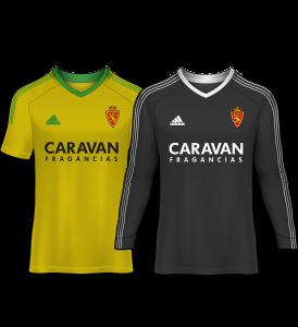camiseta portero real zaragoza 17-8