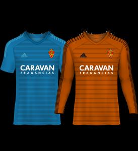 camiseta portero real zaragoza 18-19