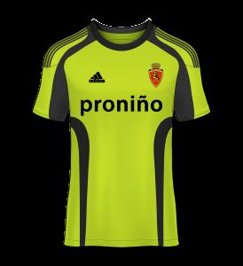 camiseta visitante Real Zaragoza 10/11