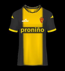 camiseta visitante Real Zaragoza 12/13