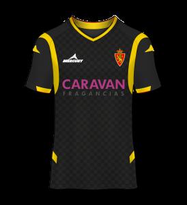 camiseta visitante Real Zaragoza 14/15