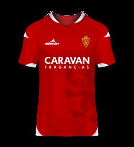 camiseta visitante Real Zaragoza 15/16