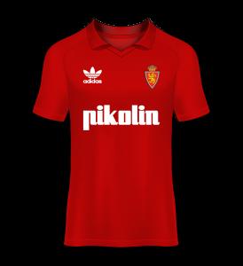 Camiseta especial Real Zaragoza final de copa del rey 1993