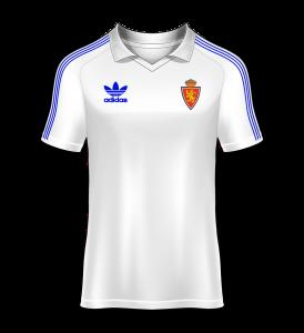 Camiseta especial Real Zaragoza final de copa del rey 1986