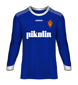 Camiseta Real Zaragoza final Supercopa de Europa