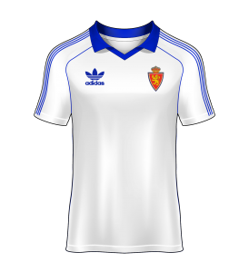 Camiseta local real zaragoza 81-82