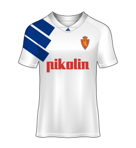 camisetas Real Zaragoza 92/93 local