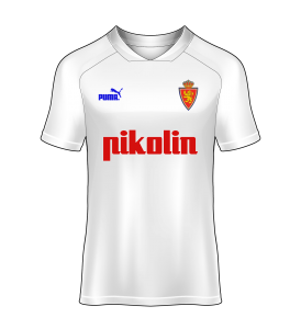 camiseta local Real Zaragoza 93/94
